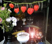 仏壇の鬼灯