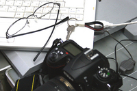 カメラと眼鏡と鍵と